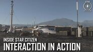 Inside Star Citizen Interaction in Action Fall 2020
