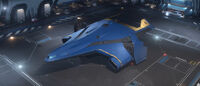 Hercules Starlifter - Invictus Blue and Gold Paint