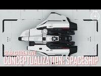 Star Citizen Live- Conceptualization - Spaceship