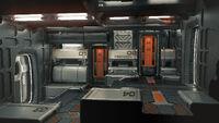 Starfarer - final art Escape Pod Room