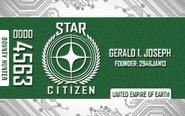 Green Citizens Card - Mockup