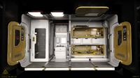 04 Vanguard Sentinel lifepod section portside