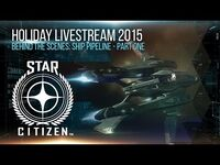 Holiday Livestream 2015- Ship Pipeline - Part One