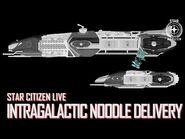 Star Citizen Live- Intragalactic Noodle Delivery