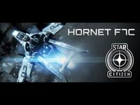 Star Citizen- Official Anvil Aerospace Hornet Commercial