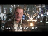 Star Citizen- Galactic Tour Anvil Ships