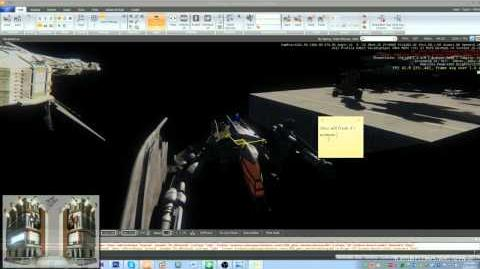 Vanduul Scythe in CryEngine WIP 24h livestream footage