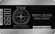 Platinum Grand Admiral Citizens Card - Mockup