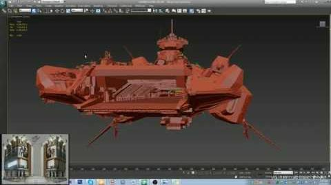 Bengal Carrier in 3DS Max & CryEngine WIP 24h livestream footage