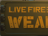 Live Fire Weapons