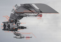 Vanduul-fighter-mechanical-detail