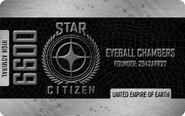 Platinum High Admiral Citizens Card - Mockup