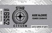 Silver Citizens Card - Mockup
