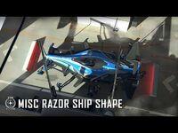 Star Citizen- MISC Razor Ship Shape