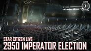 Star Citizen Live 2950 Imperator Election