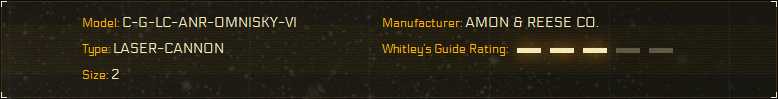 Whitley's Guide Rating