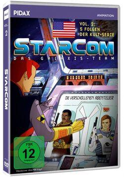 Frontansicht der DVD StarCom – Das Galaxis-Team - Vol. 2
