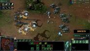 StarCraft II Heart of the Swarm - Battle Report (Protoss vs Terran)