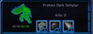 Remastered Dark Templar wireframe