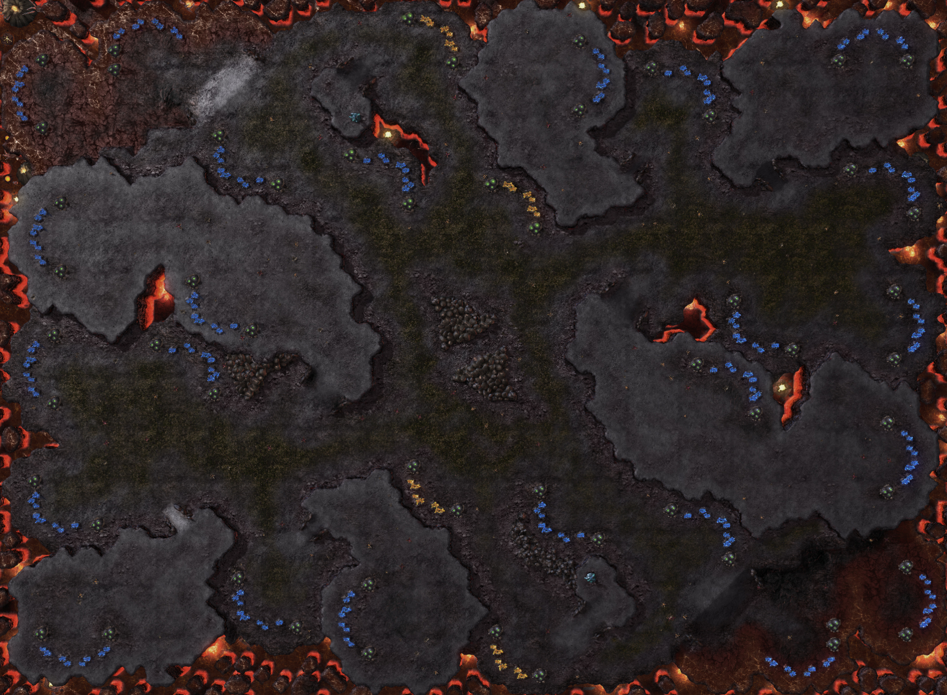 Mapa SC2 Equipe 4x4 Ilha Partida01.jpg