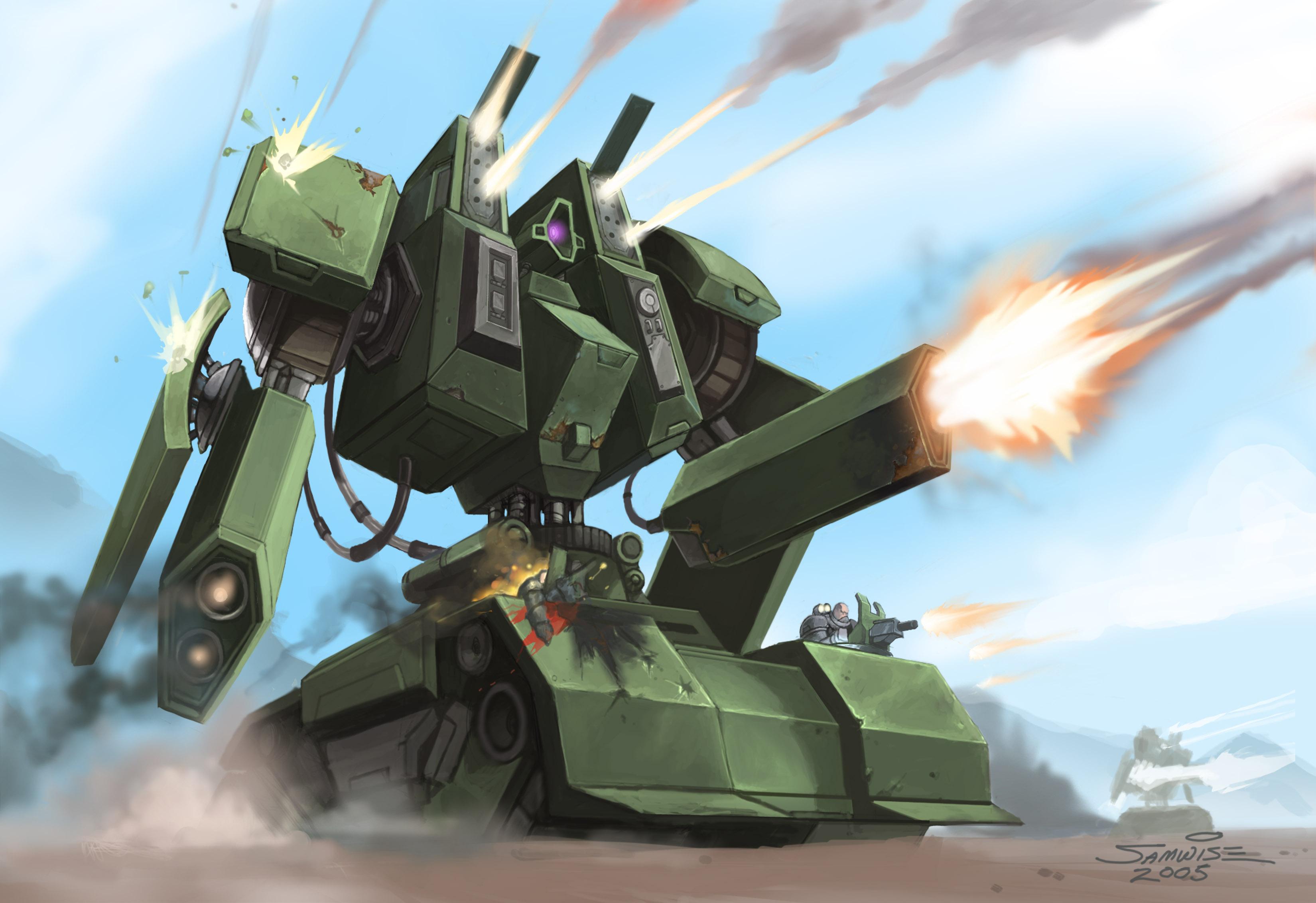 Zeus battle tank