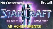 Starcraft 2 Lab Rat - Brutal Guide - All Achievements!