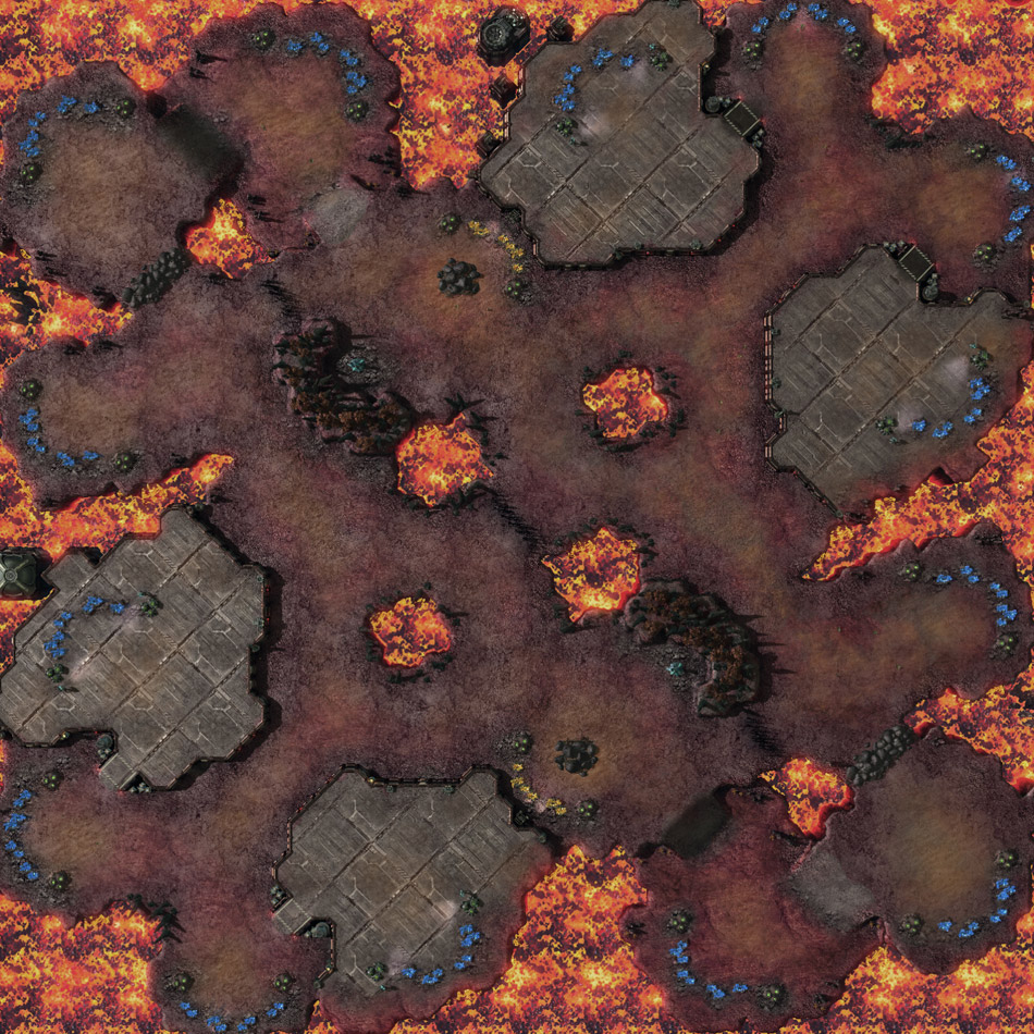 Molten Crater