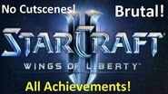 Starcraft 2 Gates Of Hell - BRUTAL Guide - All Achievements!