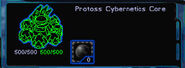 Cybernetics Core wireframe