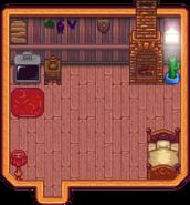 Wilderness Farmhouse Interior
