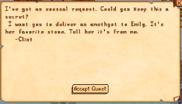 Clint quest mail
