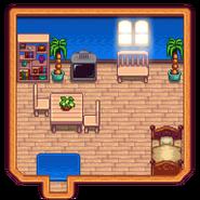 Пляжная ферма интерьер дома