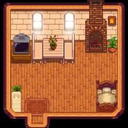 Четыре угла интерьер дома