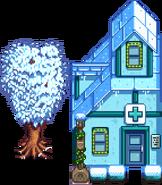 Клиника Харви зима