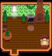 Forest Farmhouse Interior