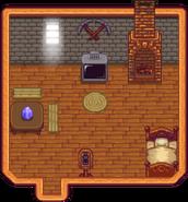 Hill-top Farmhouse Interior