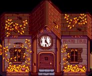 Клуб старый осень