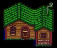 Leah's Cottage Outside