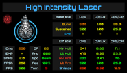 Weapon Card - High Intensity Laser2