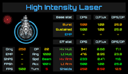 Weapon Card - High Intensity Laser
