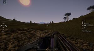 Ground Pounder in first person