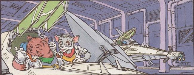 Star Fox Mission File Printout
