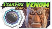 Star Fox Zero - FINALE Venom! Wii U Gameplay Walkthough With GamePad