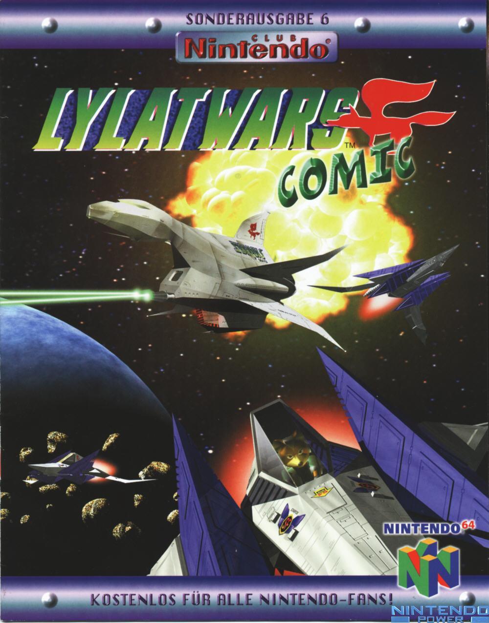 Lylat Wars Comic