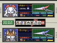 StarFox2 SelectPilots FayMiyu
