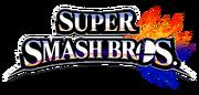 Super Smash Bros 4 merged logo, no subtitle.png