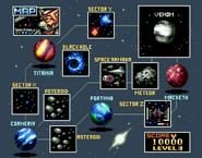 00 Star Fox Lylat Map