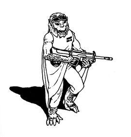 Yazirian with automatic rifle.jpg