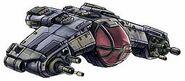 Dralasite Starfighter