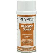 Spray bandage